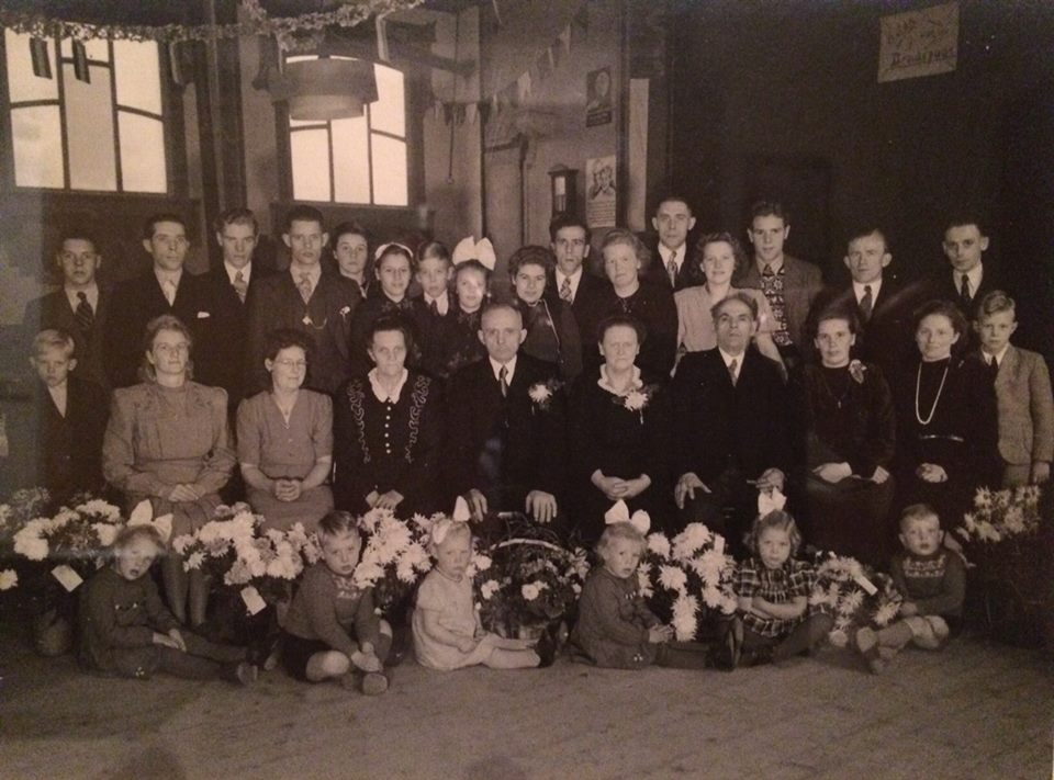 Familie foto ong 1947/1948